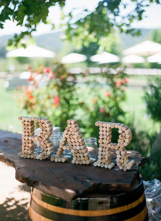bar cork letters