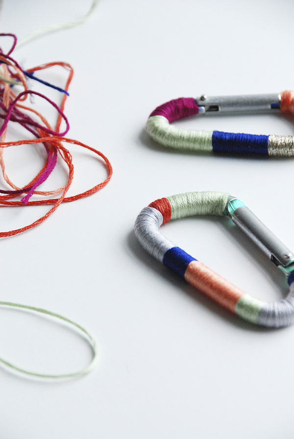 diy colorful carabiner