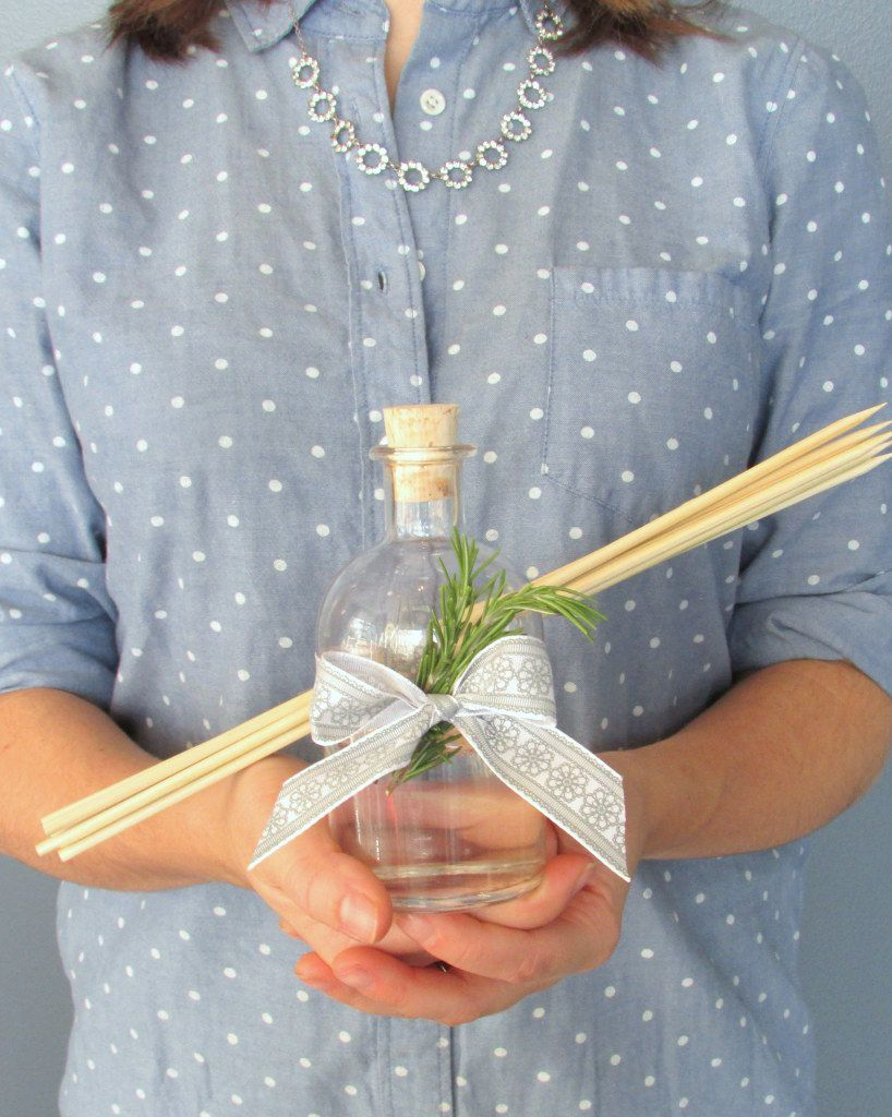 diy essential oil reed diffuser gift