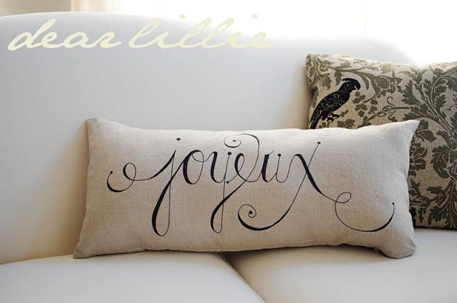 diy sharpie pillows