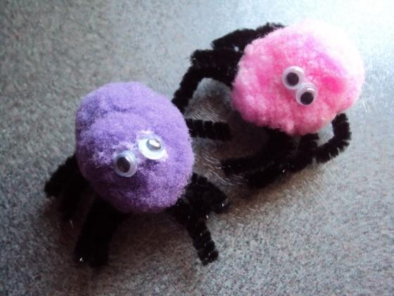 pom pom spiders