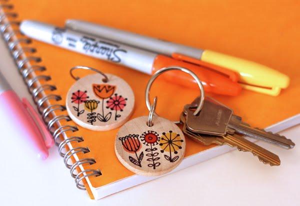 sharpie-DIY-keychain