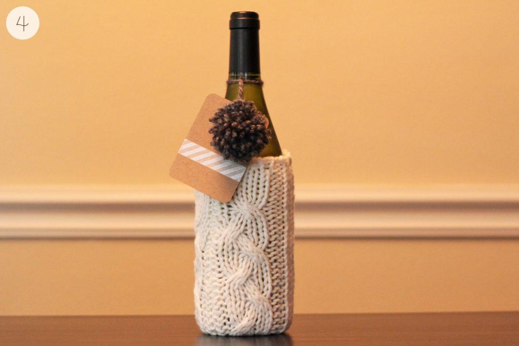 sweater wine cozy