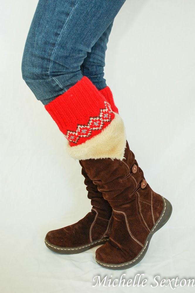 14 sweater boot cuffs