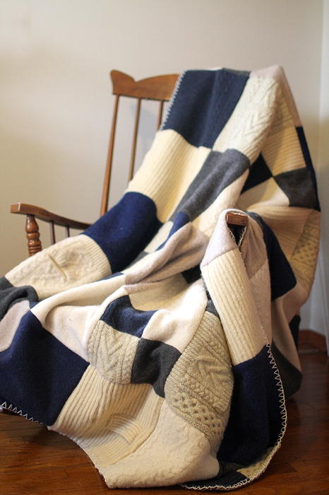 17 felted sweater blanket quilt