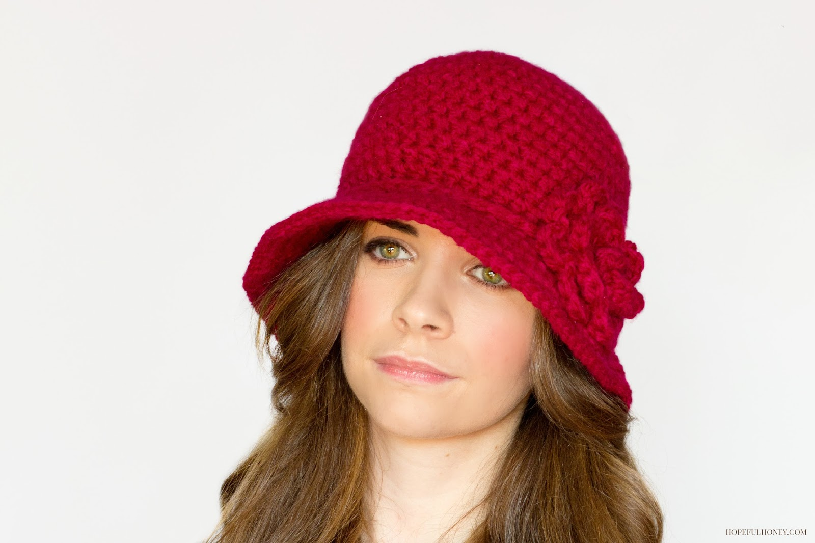 1920's Cloche Hat Crochet Pattern