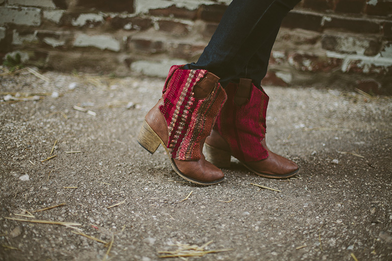 21 rugged sweater boots diy