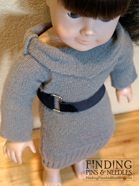31 recycled doll sweater