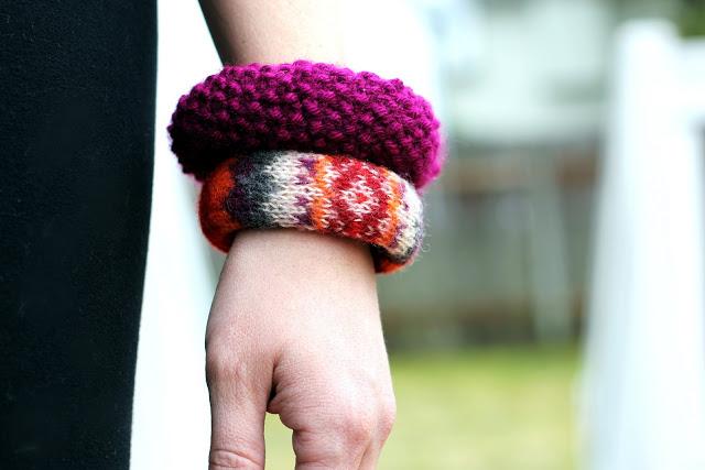33 sweater bangle bracelets