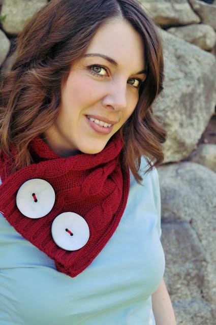 41 sweater scarflette