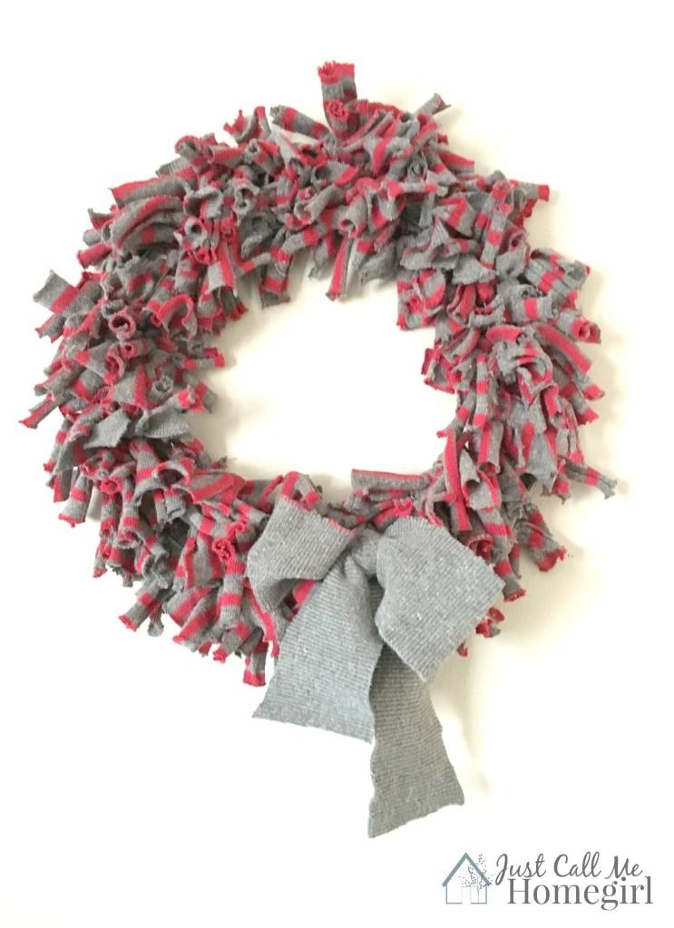 47 sweater wreath