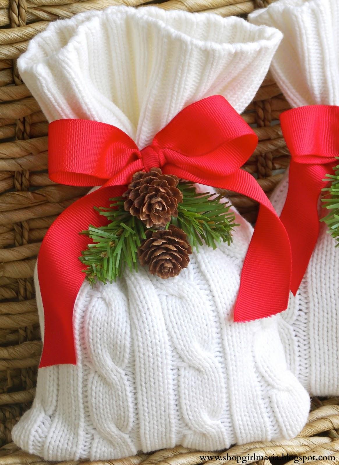 48 sweater christmas treat bag