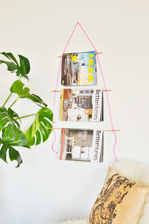 5 DIY Magazine Holder