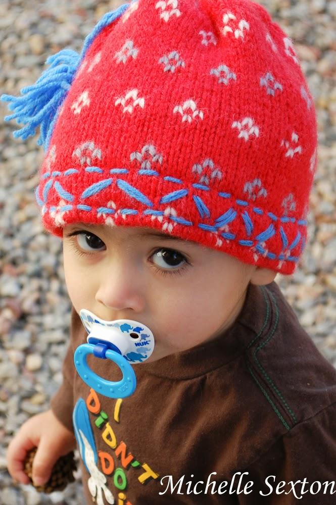 6 diy kids beanie hat