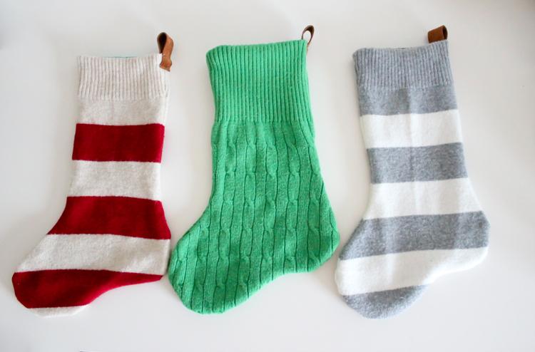 9 diy christmas sweater stockings