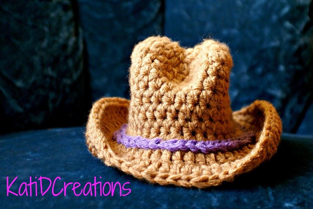 Baby Cowboy Hat Crochet