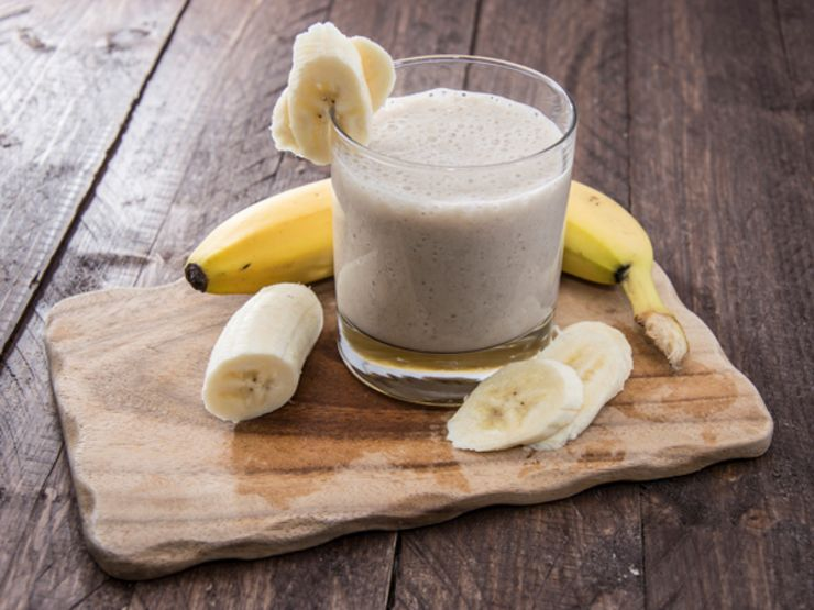 Bananas and Ginger for Digestion Smoothie