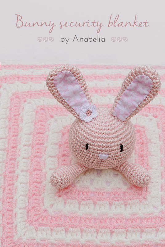 Bunny-securtity-blanket-crochet