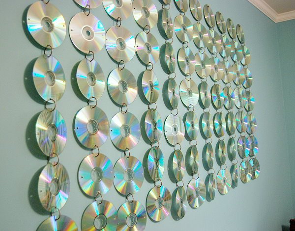 Creative Ways To Use Old Cds And Dvds