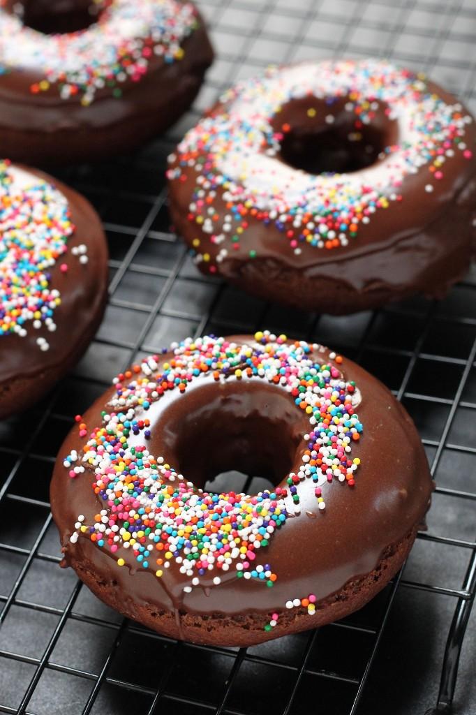 Chocolate Banana donuts