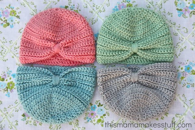 These 32 crocheted baby accessories will look adorable on your crochet baby turban dt1010fo