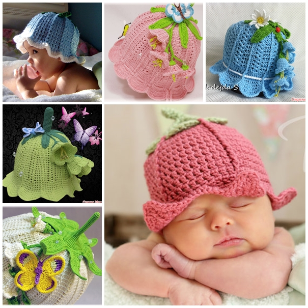Crochet-Bluebell-Hats-DIY