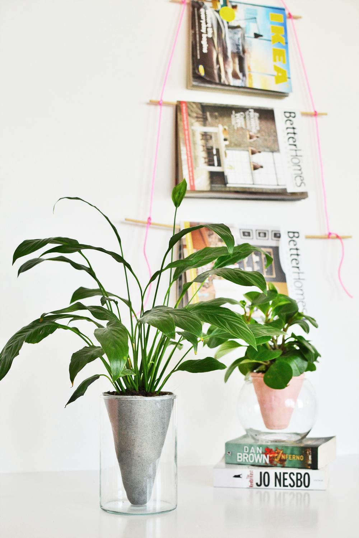 DIY Conical Planter