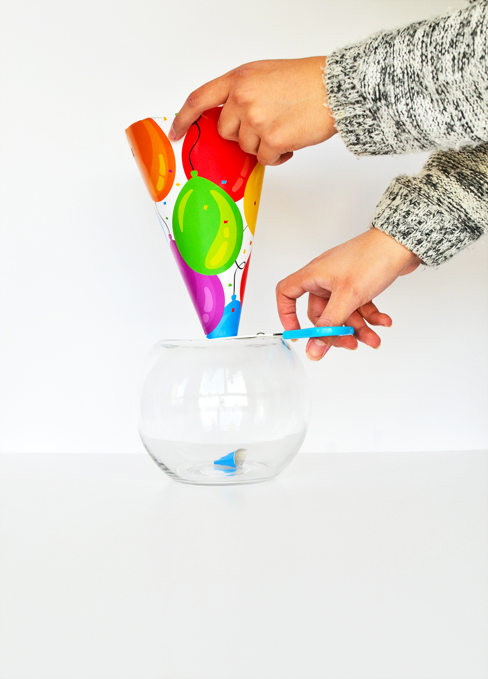 DIY Conical Planter 2