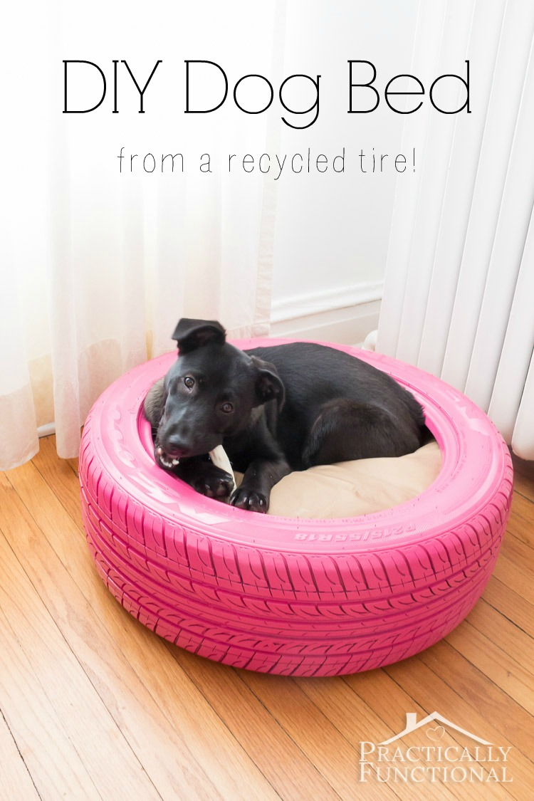 DIY-Dog-Bed-From-A-Tire-8