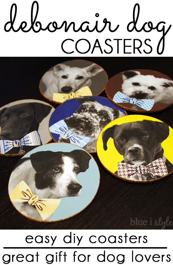 DIY Dog Coasters