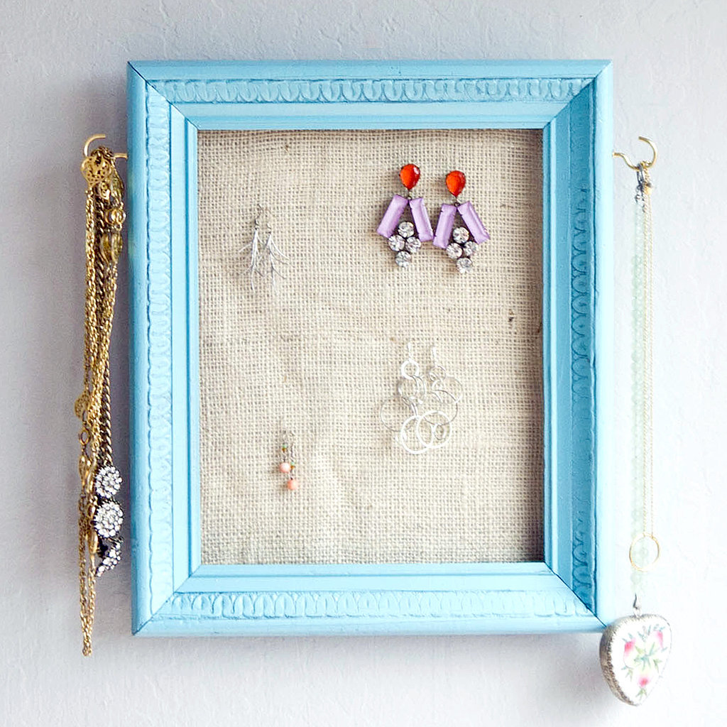 picture frame jewelry holders learn how to reinspire items with these 27 diys 8059