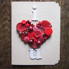 Give out some handmade love with these 21 diy valentines day cards instead of a store bought slogan try crafting and giving out some handmade love with these 21 valentines day cards solutioingenieria Images