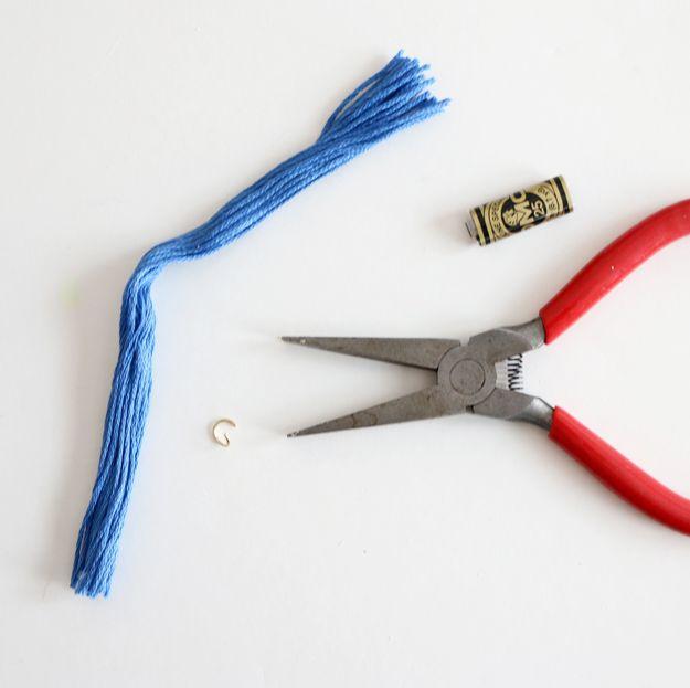 DIY Wooden Tassel Bracelet - slide