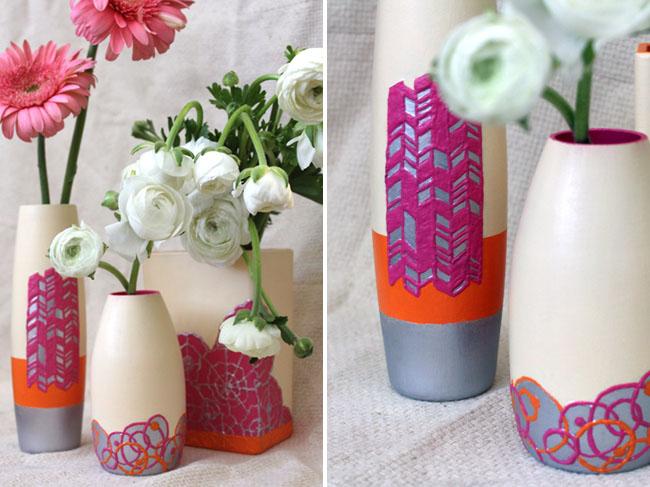 DIY-clay-vase