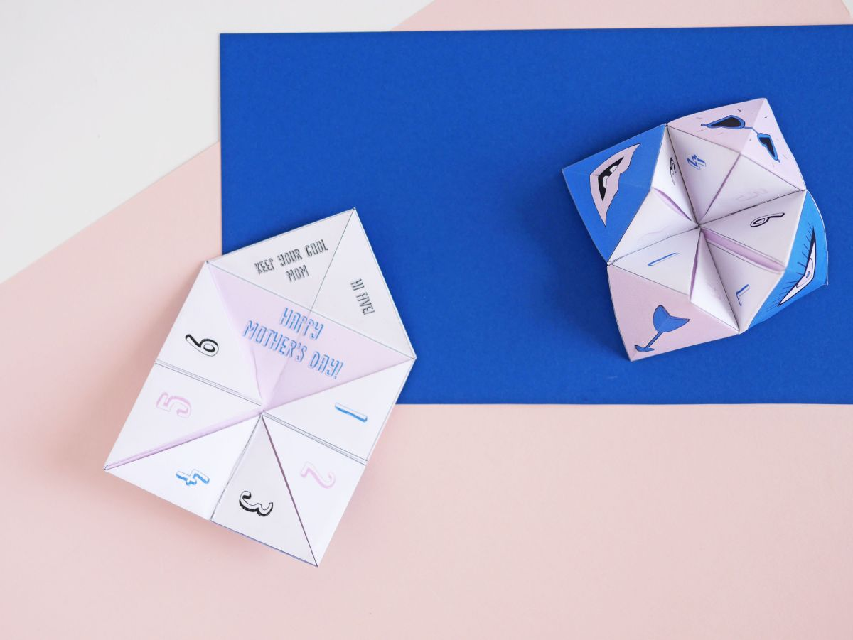 How to Make an Origami Cootie Catcher! | 901x1200