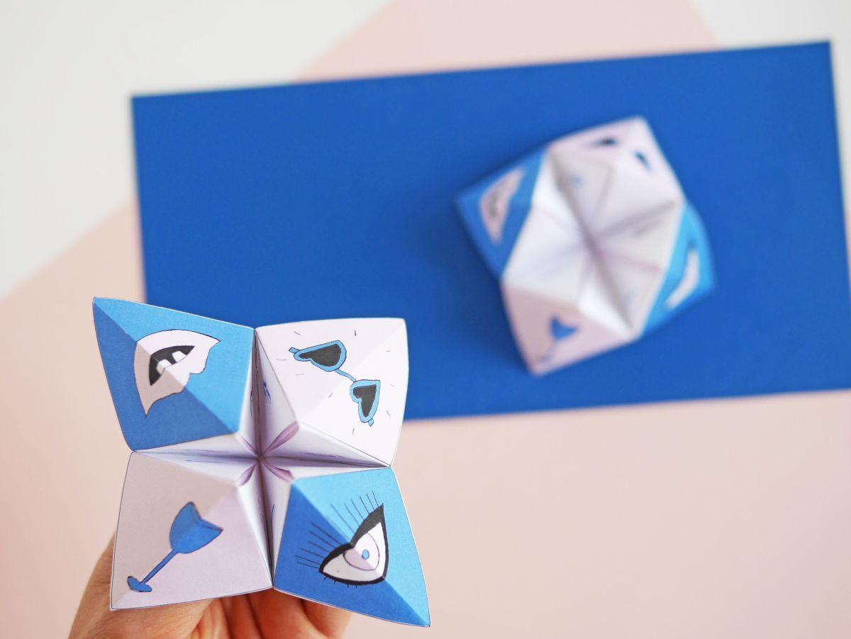 DIY mothers day fortune teller by La maison de Loulou-3