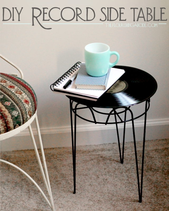 DIY-record-side-table
