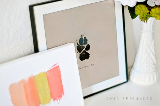 DIy Dog Art