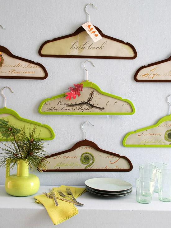 DIy Hanger Wall Art