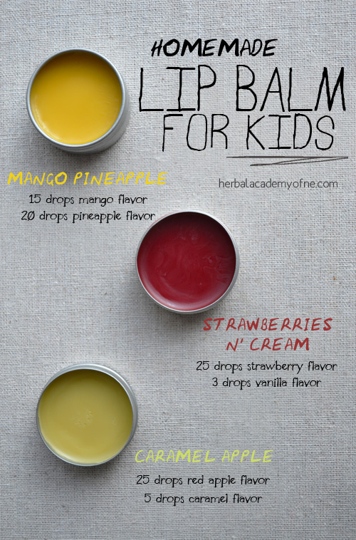 DIy Lip Balm for Kids