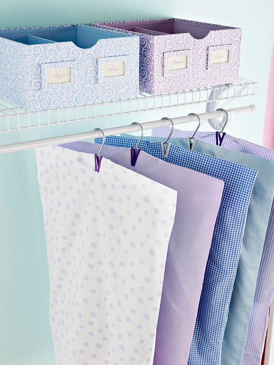 DIy Pillowcase Garment Bag