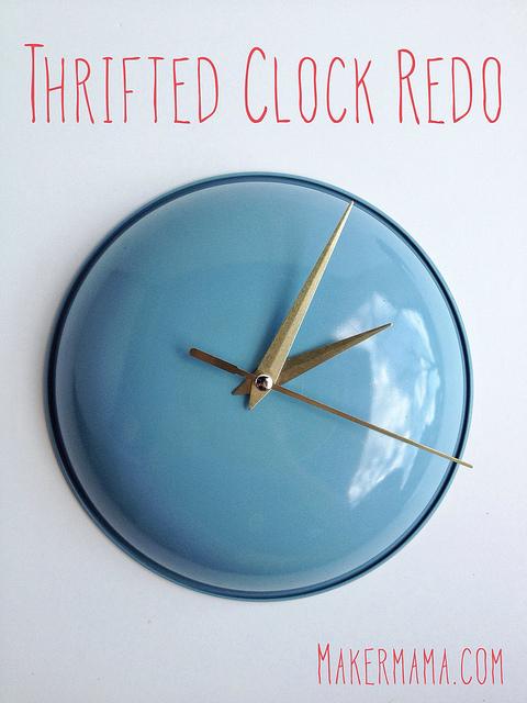 DIy Pot Lid Clock