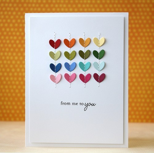 Give Out Some Handmade Love With These  Diy ValentineS Day Cards