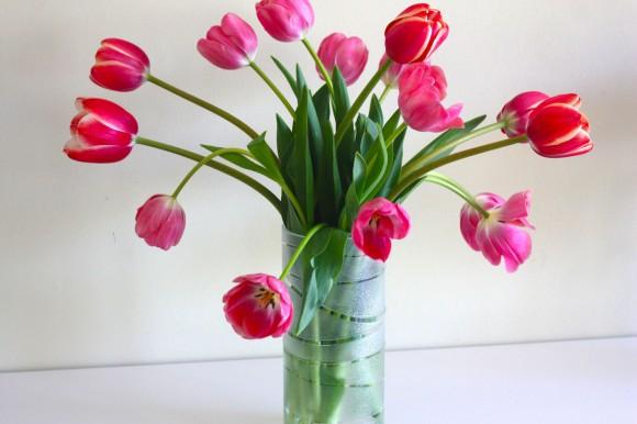 DIY Rosted vase