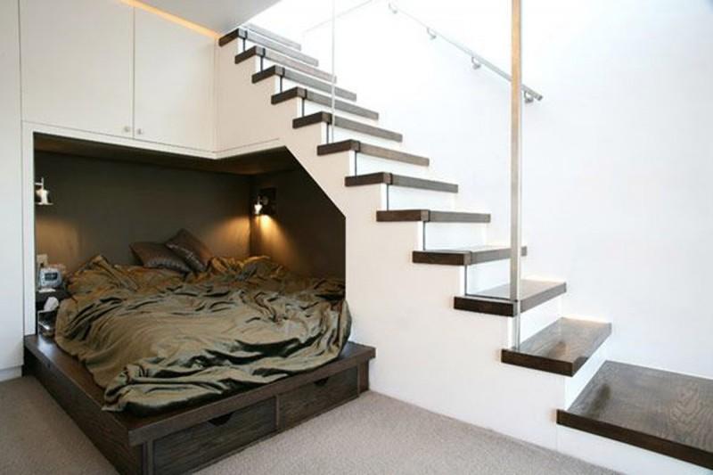 Design a bed understairs