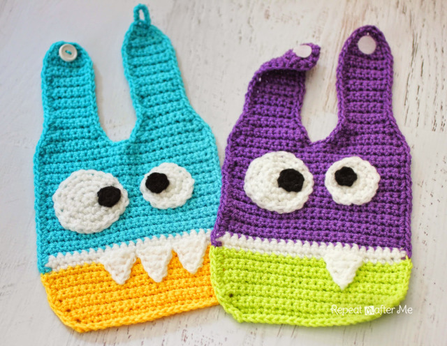 Monster Bib Crochet