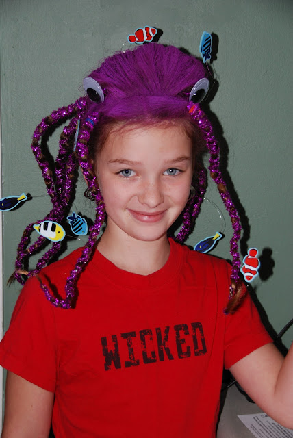 Great Crazy Hairstyles For Wacky Hair Day At School