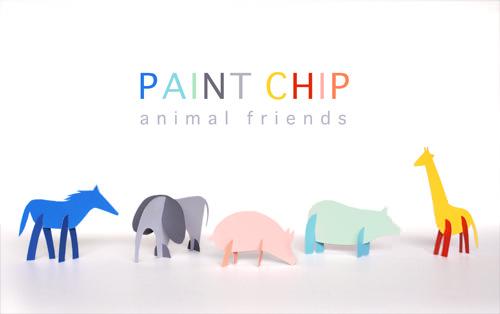 PaintChipAnimalFriendsDIY