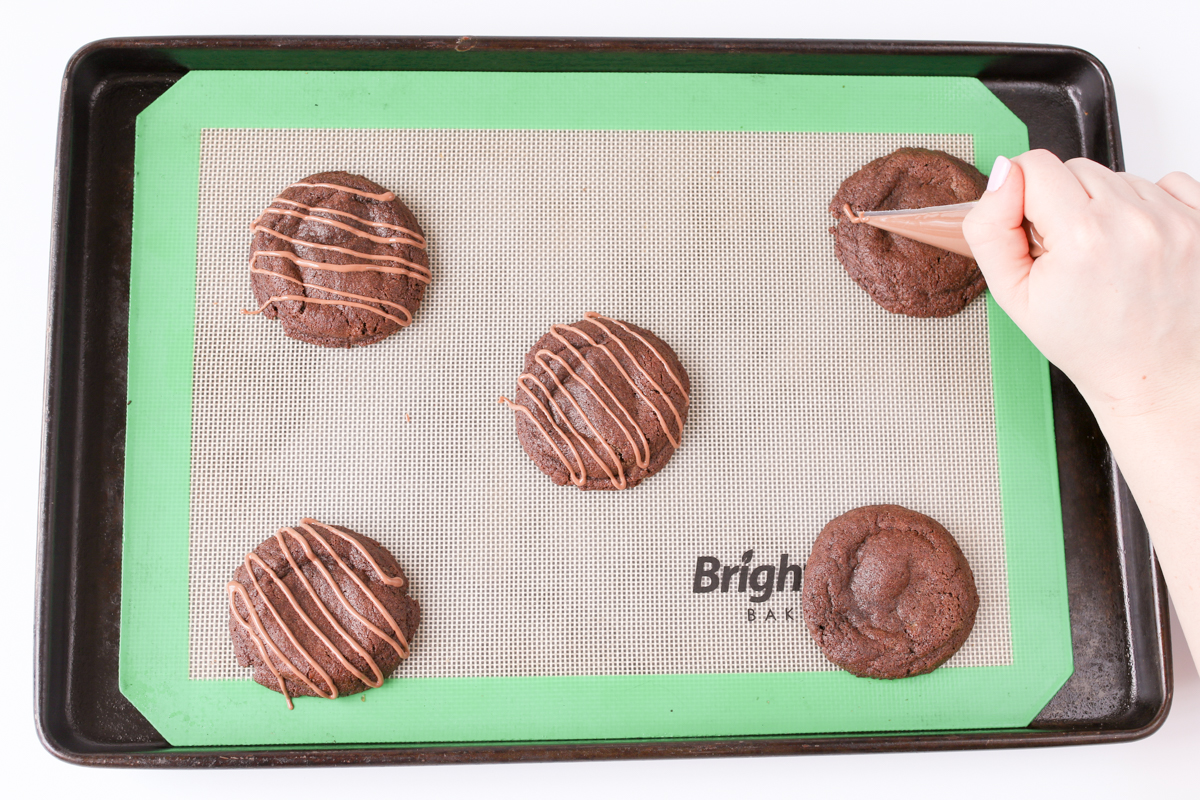 Rolo cookies prep16