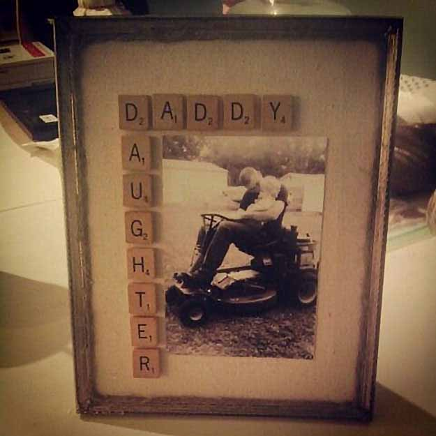 Scrabble Photo Frame